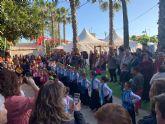 Más de una veintena de artesanos se dan cita en el mercado de primavera de Puerto Lumbreras