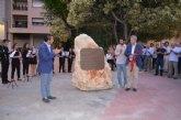 Derriban el monolito en homenaje a los vecinos de Mula deportados y asesinados en Mauthausen
