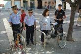 La Policía Local repartirá 20.000 folletos entre los ciclistas para recordarles que tienen que respetar las normas de circulación