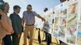 La Comunidad pone en marcha un depósito para almacenar agua y evitar vertidos al Mar Menor en San Pedro del Pinatar