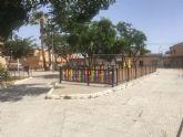 Mas de 7.000 euros de inversion en la Plaza Manuel de Falla de la Barriada San Cristobal