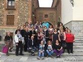 La delegación de Lourdes de Totana junto con a la Parroquia de Santiago peregrinaron al Santuario de la Fuensanta en Murcia