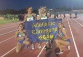 Una expedición de más de 40 jóvenes atletas sub20 se desplazaron a las pistas de Atletismo de Alcorcón