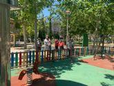 Mejores zonas verdes en el centro de la ciudad y nuevo mobiliario urbano para mejorar la calidad de vida de los murcianos