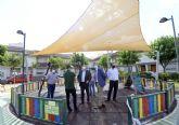 Más de 120 espacios de sombra para disminuir la temperatura en un centenar de jardines y parques murcianos