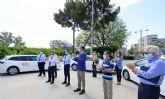 Aplauso colectivo al sector del taxi, que lanza una nueva campaña solidaria en colaboración con el Banco de Alimentos