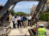 Las obras del colector de aguas pluviales del barrio de Los Pescadores estarán terminadas a mediados de junio