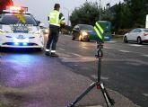 La Guardia Civil sorprende a un turismo deportivo circulando a 253 km/h en un tramo de autovía