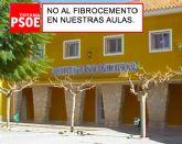 Los concejales socialistas promueven una moción conjunta para que se sustituya el fibrocemento del IES Prado Mayor este verano