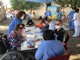 Usuarios de los dos Centros de Día para la Discapacidad participan en las actividades programadas con motivo del Día Internacional del Juego