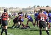El Ayuntamiento y el Club de Rugby Totana suscriben un convenio para el uso del campo de césped natural del Polideportivo Municipal