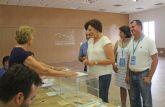 La alcaldesa de Puerto Lumbreras anima a los lumbrerenses a ejercer su derecho a voto en las Elecciones Generales