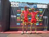 Intensa semana para los corredores del Club Ciclista Santa Eulalia, que empezarían a competir a principio de semana a nivel internacional