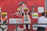 Pedro Acosta se afianza en el liderato de premoto3 tras su nuevo triunfo en Navarra