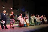 La peña El Caldero clausura el XII Festival de Folclore con un homenaje a la Virgen del Carmen
