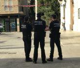 Detenido un individuo por la Policía Local de Torre Pacheco, que fue sorprendido infraganti mientras cometía un robo en un establecimiento