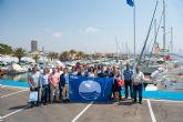 Turismo entrega en Mazarrón las banderas azules que ondearán en playas y puertos este verano