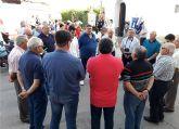 Siete grupos participaron en el 'Encuentro de Auroros' celebrado en el barrio de San Pedro torreño