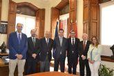 La UMU y el colegio de Registradores de la Propiedad firman un convenio para crear la cátedra de Derecho Registral