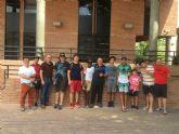 Ocho menores del Servicio Integra del Ayuntamiento de Molina de Segura participan en un campamento de verano