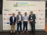 El proyecto Smart City, MiMurcia y su cerebro CEUS se presentan en el V Congreso de Ciudades Inteligentes