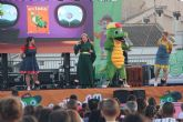 El mago 'Sim Saladín' de Drilo y su pandilla visita las fiestas de San Pedro del Pinatar