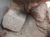 Los restos arqueológicos que se encuentran en un bajo comercial de la calle Sagasta serán recuperados