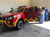 Los bomberos del Consorcio de Extinción y Salvamento estrenan máscaras de intervención y un vehículo jefatura para Los Alcázares