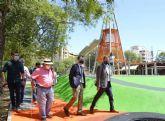 El Jardín de la Fama estrena dos zonas infantiles de 1.000 m2 que dan continuidad al eje peatonal de Alfonso X El Sabio