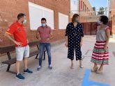 El Ayuntamiento de Puerto Lumbreras lleva a cabo tareas de mantenimiento en los colegios para su puesta a punto de cara al inicio del próximo curso escolar