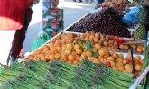 Nota informativa mercado semanal de ropa y agroalimentario en Mula