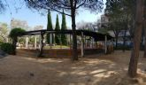 Finaliza la remodelación integral del jardín junto a Escultor Sánchez Lozano en San Andrés