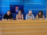 El Ayuntamiento de Molina de Segura firma un convenio de colaboración con Proyecto Hombre para programa de atención a personas con problemas de adicción
