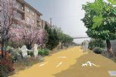 Plantarán 1.800 árboles autóctonos a lo largo del recorrido de la senda verde que unirá Alquerías y Los Dolores