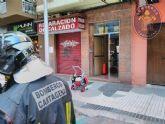 Un lavavajillas origina el incendio de una vivienda sofocado por los Bomberos sin que hubiera daños personales
