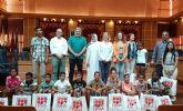 Recepción en el Ayuntamiento de Molina de Segura a una representación de los niños y niñas saharauis que participan en el programa Vacaciones en Paz 2019