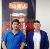 El Ayuntamiento de Molina de Segura visita la empresa Conservas Sandoval SL para conocer sus instalaciones