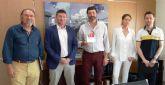 El Ayuntamiento de Molina de Segura visita la empresa puntera SAECO, para apoyar su actividad y celebrar su trayectoria en su 40 aniversario