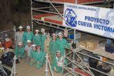 Finaliza el primer turno de campo de trabajo en Cueva Victoria
