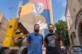 El arte urbano también rinde homenaje a Paco Martín