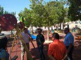 El Ayuntamiento remodela la zona infantil de la avenida Antonio Rocamora de Espinardo