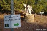 Los vecinos de Aledo pueden acceder a Totana y la autovía A7 por el desvío del Jumero hasta el Ángel