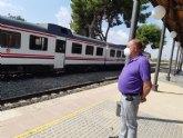 El alcalde invita y anima a la ciudadanía a participar en la concentración por la defensa de la línea ferroviaria Murcia-Águilas