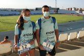 Gran experiencia para Lucía Morales y Achraf Hassouni en el Nacional Sub18