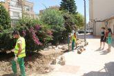 El Ayuntamiento pone en marcha un plan integral de remodelación de parques y jardines en Puerto Lumbreras