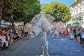 La Comparsa Salgueiro promociona el Carnaval cartagenero en Francia