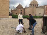 La Concejalía de Comercio está efectuando labores de limpieza y adecuación de las Plazas de Abastos de Saavedra Fajardo, Vistabella, San Andrés, La Alberca, Cabezo de Torres y Espinardo