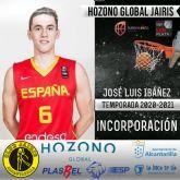 El joven José Luis Ibáñez jugará la próxima temporada en el Hozono Global Jairis
