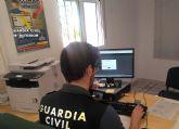 La Guardia Civil investiga a tres personas por el robo en una vivienda de Murcia