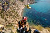 Los rescates en montaña se triplican este verano en Cartagena